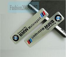 1X 3D Aluminium Motorsport Logo Decal Badge Sticker Emblem Fit For BMW car
