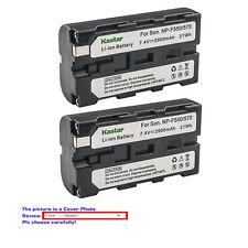 Kastar Battery for Sony NP-F570 NP-F550 NP-F530 NP-F330 & CN-126 CN-160 CN-216