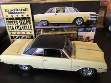 1/18 LANE EXACT DETAIL 1965 CHEVROLET CHEVELLE Z16 BUTTERNUT YELLOW