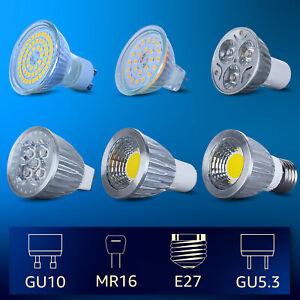 Jauhofogei GU10 GU5.3 MR16 Led spotlight bulb ,3W 5W Replacement for 25W-50W