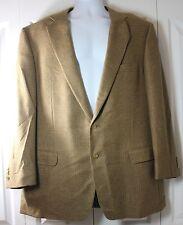 Ermenegildo Zegna Su Misura TAILORED 46L Pure Cashmere 2 Button Blazer