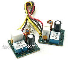 One Pair 60W 2 Way Crossover Filters For Two Speaker System Audio Divider