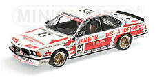 Minichamps BMW 635 CSI Brun Motorsport Grohs/brun/Boutsen SPA 24h 1985 #21, 1:18