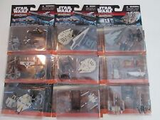 STAR WARS THE FORCE AWAKENS MICROMACHINES LOT 7 BRAND NEW