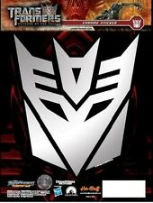 Transformers Decepticons badge - shield - Car Sticker - Chrome Sticker - Decal