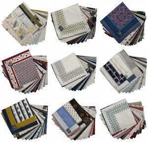 SG Confezione scatola 12 fazzoletti cm.50x50 PEROFIL articolo VPRT00284-23