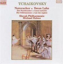 Tchaikovsky Nutcracker Swan Lake 1987 Naxos CD in Full JEWEL Case