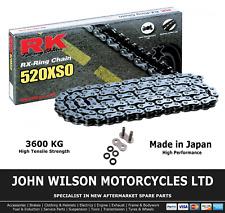 Suzuki GS 500 F 2004 - 2006 K4 K5 K6 Steel RK X-Ring Chain 520 XSO 110 Link