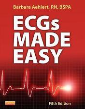 ECGs Made Easy by Barbara J. Aehlert (2012, Paperback)