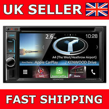 "Kenwood DNX-5160BTS Double Din Car GPS Sat Nav Bluetooth 6.2"" Screen Stereo New"
