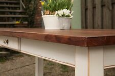Esstisch Tisch Landhaustisch Esszimmer Massiv 180 cm mod.04 shabby/antik matt