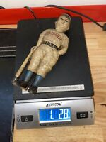 Mickey Mantle Cast Iron Slugger Piggy Bank Patina Finish Vintage Style Baseball