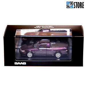 SAAB-900 Turbo Pickup Amethyst Violet scale 1:43 MIB Collectors item Car Lim.Ed.