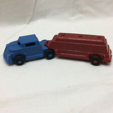 Vintage LIDO Plastic Semi Truck Toy Made in USA