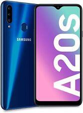 "Samsung Galaxy A20s BLU 6.5"" HD+ 3 Fotocamere Posteriori 3/32GB Espandibili"