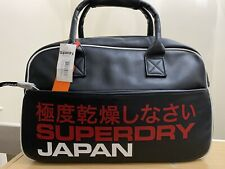 Superdry Technical Tote Bag - Eclipse Navy/Red Ref TEC02
