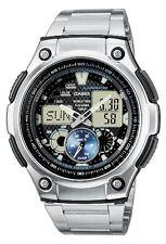 Casio Men's Analog and Digital Quartz Multifunction Calendar Light Watch