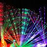 1/5x Peacock Light Up Finger Ring Laser LED Glow In Dark Sticks Party Kids Toys