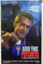 Psycho III Original Single Sided Movie Poster 1986 Anthony Perkins Jeff Fahey
