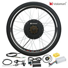 "26""1500W Rear Wheel 48V Electric Bicycle Bike Motor Conversion Kit Hub Cycling"