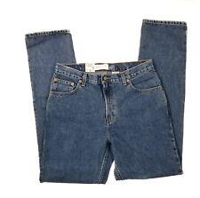 Vtg GAP Womens Jeans Original Fit Straight Leg Trim Sz 12 Long NWT