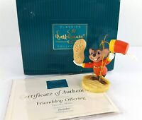 Walt Disney Classics Collection WDCC Timothy Mouse Friendship Offering 1998