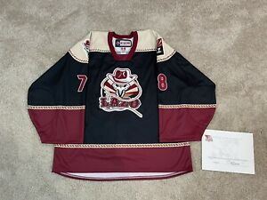 Tucson Roadrunners Game Issued AHL Authentic CCM Specialty El Lazo Jersey 58g