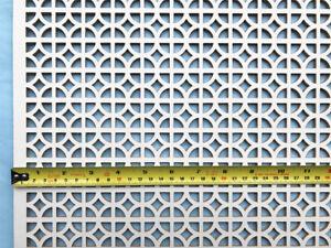 Radiator cover decorative grille screening panel Ockley design