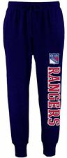 New York Rangers Majestic Navy Blue Youth Sweatpants