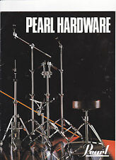 VINTAGE MUSICAL INSTRUMENT CATALOG #10556 - 1982 PEARL DRUM HARDWARE
