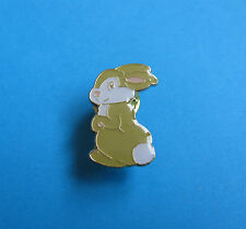 Easter Bunny Rabbit Pin badge, unused, VGC, Enamel.