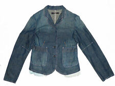 FULL CIRCLE/ DRESSY DENIM JEANS JACKET/ LIGHT BLUE/ SIZE MEDIUM, 10-12/ EX COND