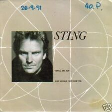 STING-VENGO DEL SUR SINGLE VINILO 1991 SPAIN B-B