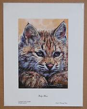 Vivi Crandall Baby Blues Lt Ed Animals Fine Art Reproduction Wildlife Print S/N