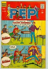 Pep #218 June 1968 VG Archies Band Electric Harmonica Cover
