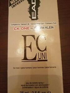 EAD EC UNI Men's Cologne Spray 2.5 oz. CK ONE by Calvin Klein
