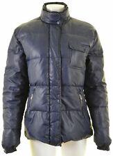 CHAMPION Womens Padded Jacket Size 18 XL Blue Polyester  LX06