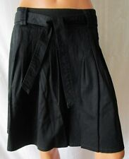 ***MISS MISS By Valentina Gonna Skirt TG.M COTONE Colore Nero con pieghe Cod.AS
