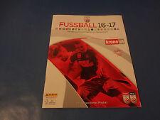 Panini Bundesliga 16-17 Leeralbum Version Österreich - selten