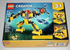 Lego Creator 3 in 1 Underwater Robot (31090) 2019 NEW Box Wear