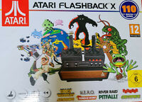 Atari Flashback X Mini Spielekonsole mit 110 Spielen Konsole Retro Spiel Konsole