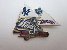 New York Yankees SD San Diego Padres 1998 World Series pin MLB