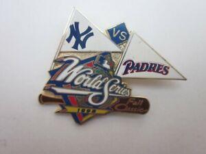 New York Yankees VS San Diego Padres 1998 World Series pin MLB