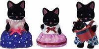 Sylvanian Families Starry Sky CAT FAMILY FS-37 2020 Epoch Japan Calico Critters