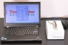 Thermo NanoDrop ND-1000 UV/VIS Spectrophotometer +Laptop/Software/Warranty