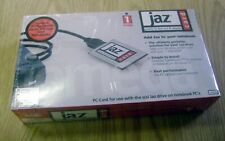 Iomega Jaz PCMCIA to Fast SCSI II Adapter PC Card +Cable Kit in Box