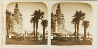 Monaco Monte-Carlo Il Casinò, Foto Stereo Vintage Analogica PL61L1177