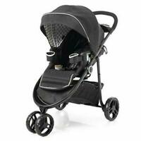 #1950904 MSRP $249 Black NIB Graco Modes 3-in-1 Click Connect Stroller Holt