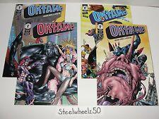 Oktane #1-4 Comic Lot Dark Horse 1995 2 3 COMPLETE Series Gerard Jones Gene Ha