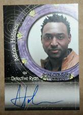 Stargate SG-1 Autograph Card - A109 Adrian Holmes  (Detective Ryan)